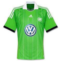 Camiseta del VFL Wolfsburg 2013-2014 Visitante