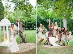 Vintage+Rustic :: Lacey+Taylor, Part 2 cute pictures! #cedarwoodweddings
