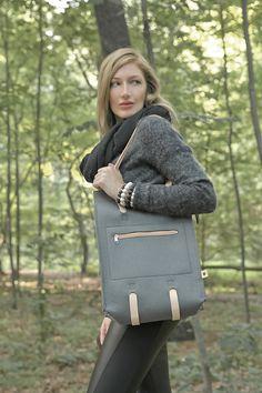 Perfect Fall bag!  Eco-conscious wool felt bag.