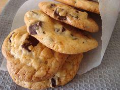 Bocadinhos de Açúcar: Cookies com pepitas de chocolate