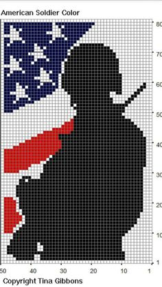 Patriotic Quilts, Plastic Canvas, Beading Patterns, Cross Stitch, Afghans, Crochet Ideas, Charts, Projects, Fictional Characters