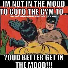 Hahahaha love this! My buddy A every time we drop off the kiddos, he goes gym we go BOB stroller  run :)