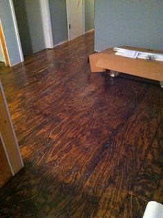 Plywood Floor | Plywood Floors | Pinterest | Plywood, Flooring Ideas And  House