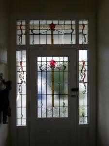 Bespoke Stained Glass windows for Villa entryway. & Custom Stained glass - Devonport Auckland | Foyer | Pinterest ...