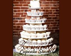 Cupcake Stand Large Round 150 Cupcakes by Zenaidas4urLilAngels