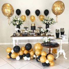 Super birthday decorations for men party decor 50 Ideas Great Gatsby Party Decorations, Birthday Decorations For Men, Graduation Decorations, Graduation Desserts, 70th Birthday Parties, Adult Birthday Party, Birthday Celebration, Deco Candy Bar, Man Party