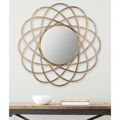 Safavieh Galaxy Wall Antique Gold Mirror - Overstock™ Shopping - Great Deals on Safavieh Mirrors