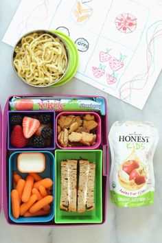 Back to School Lunch Box Ideas and A Giveaway - Foodness Gracious
