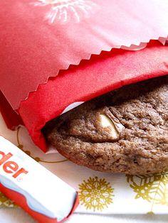 Cookies au Kinder ® Chocolat
