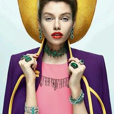 Bring the colours of happiness into your life : @voguebrasil #Beauty #Fashion #Inspiration #Cool #Style #Positive