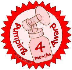 Pumping Award - 4 Months