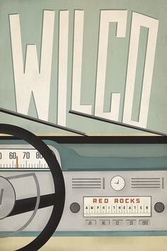 wilco show posters - Google Search