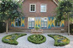 100 Gartengestaltung Bilder und inspiriеrende Ideen für Ihren Garten - garten gestalten kies pflanzen haus bank