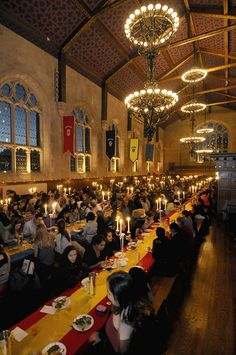 sincerely hoping that i can be part of bryn mawr's hogwarts dinner someday #imalreadyinpottermore