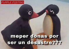 Memes Love Pingu 34 Ideas For 2019 New Memes, Dankest Memes, Funny Memes, Pingu Memes, Memes Amor, Memes Lindos, Memes In Real Life, Cute Love Memes, Love Phrases