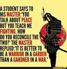 To preserve peace, prepare for war… – Liberal Logic 101 - sprüche - Quotes Wisdom Quotes, Quotes To Live By, Me Quotes, Motivational Quotes, Inspirational Quotes, Poster Quotes, Art Of War Quotes, Samurai Quotes, Martial Arts Quotes