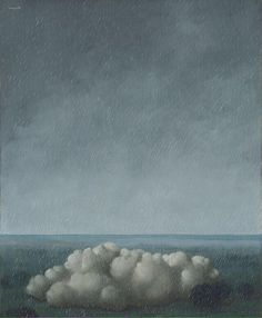 rene magritte song of the storm 1937