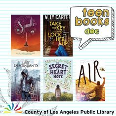 New Teen Books That You Need To Read! See what exciting new titles are coming in December from your favorite authors! Place your holds today so youll be first in line when they arrive at the library: http://ift.tt/2gWnJig #lacountylibrary #lacounty #library #reading #books @theallycarter @ek_johnston @ryan_gattis @staceyleeauthor #ya #yalit #losangelescounty