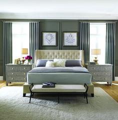 Maxime Herringbone Mansfield Bedroom | Bernhardt