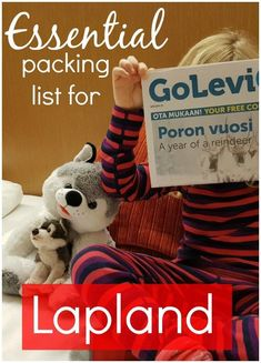My essentials packing list for Lapland - everything you need for a family trip to Finnish Lapland, including thermals, snow boots, accessories and ski clothes. #laplandwithkids #laplandpacking #laplandtips
