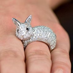Pat's Bunny Cocktail Ring - Final Sale