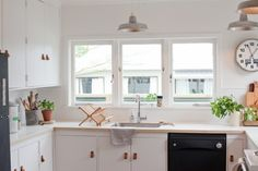 DIY budget kitchen remodel in New Zealand by blogger Gem Adams of Blackbird | Remodelista