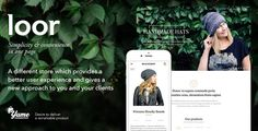 LOOR – A Modern One Page E-commerce WordPress Theme LOOR is a fresh and flexible one page e-commerce WordPress theme which brings enjoyable shopping experience. It's ideally suitable for any kind of business to sell small amount of goods.