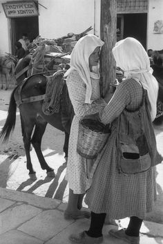 Magnum Photos - Henri Cartier-Bresson // GREECE. Thessaly. Karditsa. 1961.