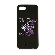The Vampire Diaries iPhone Charger Case > Vampire Diaries Floral > The Couch Potato