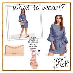 """""""Untitled #58"""" by lejlasoftic ❤ liked on Polyvore featuring Chanel and Ancient Greek Sandals"""