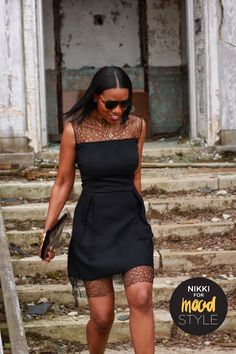 Beaute' J'adore: DIY Lace Dress