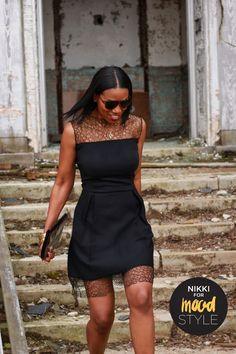 Beaute' J'adore: DIY Lace Dress