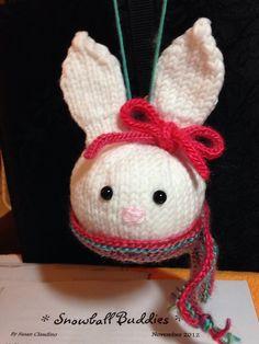 Ravelry: Aetara's Bunny Snowball Buddies