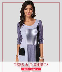 fe51c149a95 Shop Best Selling Women s TEES   T-Shirts   Women s Fashion Clothing