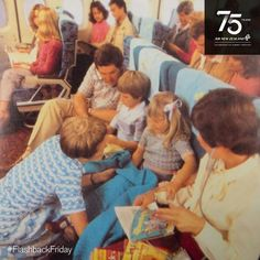 Air New Zealand On board one of our Boeing 747s in the early 1980s…