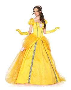 Disney Princess Belle - Deluxe Adult Women's Halloween Costume / Cosplay