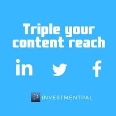 Professionals in financial planning, insurance, accounting, real estate post to multiple social networks to maximize social media reach Social Networks, Social Media Marketing, Financial Planning, Helpful Hints, Content, Useful Tips, Handy Tips, Social Media