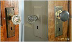 Faux Antique Door Knobs