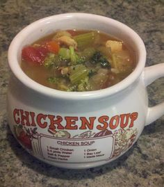 The Trim Recipe Box: Chicken Vegetable Soup - FP