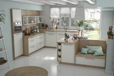 16 open kitchens that make you want - My Romodel Kitchen Design, Kitchen Decor, Kitchen Living, Modern Decor, Countertops, Sweet Home, Kitchen Cabinets, Make It Yourself, Furniture
