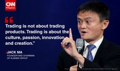 Alibaba Group's Jack Ma, the founder and chairman of one of the world's most profitable businesses, called for the support and empowerment of the more than 10 million small businesses in the world. All Quotes, Quotable Quotes, Wisdom Quotes, Motivational Quotes, Life Quotes, Inspirational Quotes, Urdu Quotes, Millionaire Lifestyle, Quote Of The Day
