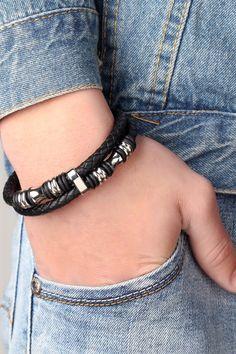 Ancre de la Mode( Bleu fonc/é ) XBY.mi 1PCS Bracelet en Polyester pour Femmes et Hommes