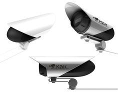 CCTV Camera by Alexandr Syachinov, via Behance