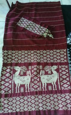 Deer design tenun NTT