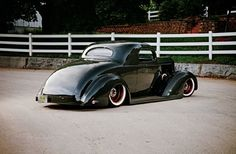 1937 Packard Business Coupe - Uphill Ride