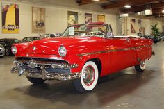 1954 FORD SUNLINER CONVERTIBLE - 97440