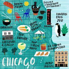 Fatti Burke - Chicago food map