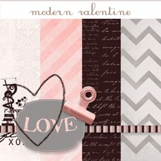 Some free digi scrap kits at Pumpkins & Posies - including this cute valentine's one  http://www.pumpkinsandposies.com/free-digi-scrap-kits.html
