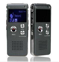 Ses Kaydedici 8 GB Marka Mini USB Flash Dijital Ses Kayıt 650hr Kulaklık MP3 Çalar