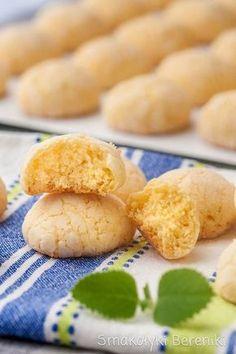 Ciasteczka budyniowe z kokosem Sweets Recipes, No Bake Desserts, Cookie Recipes, Sweet Pastries, Tea Cakes, My Favorite Food, Food And Drink, Yummy Food, Impreza